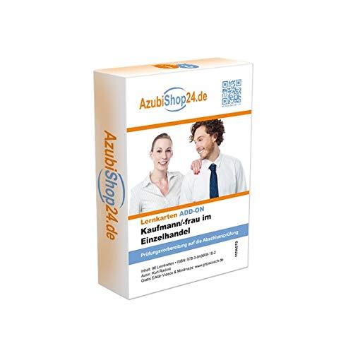 9783943608182: AzubiShop24.de Lernkarten ADD-ON IHK-Abschlussprüfung Kaufmann/Kauffrau im Einzelhandel Teil 2: Prüfungsfach Geschäftsprozesse