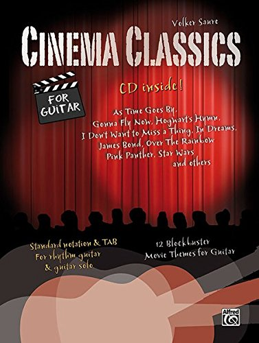 9783943638547: Cinema Classics for Guitar: 12 Blockbuster Movie Play-alongs