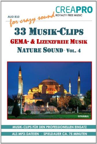 9783943668209: 33 lizenzfreie und GEMA-freie Musik Clips von CreaPro. Ideal als Hintergrundmusik und als Verwendung auf einer Webseite, für Dia-Vorträge, Präsentationen, Film, TV, Radio u.v.m.