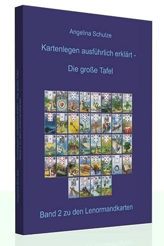 9783943729016: Kartenlegen ausführlich erklärt: Die grosse Tafel: Band 2 zu den Lenormandkarten