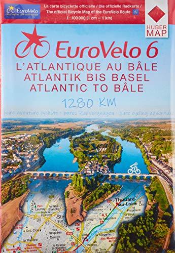 9783943752007: Eurovelo6 (Lot de 6 Cartes Sous Blister)
