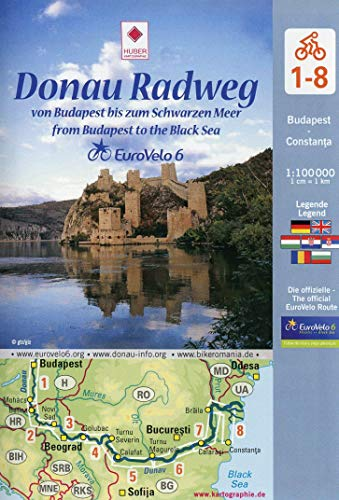 9783943752175: Danube Bike Trail, From Budapest to the Black Sea by Bike