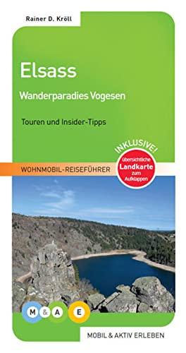 9783943759099: mobil & aktiv erleben - Elsass: Wanderparadies Vogesen