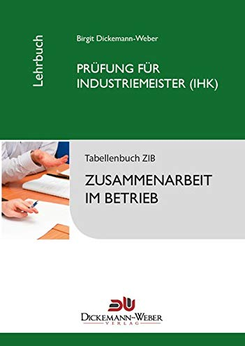 9783943772005: Tabellenbuch ZIB - Zusammenarbeit im Betrieb