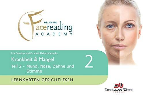 9783943772364: Lernkarten Gesichtlesen - Krankheit & Mangel Teil 2: Lernkarten der Eric Standop|face reading academy