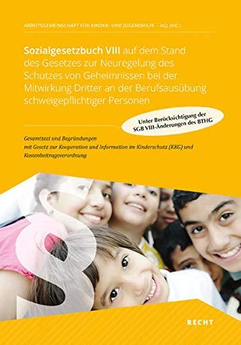 9783943847055: Sozialgesetzbuch VIII auf dem Stand des Kinder- und