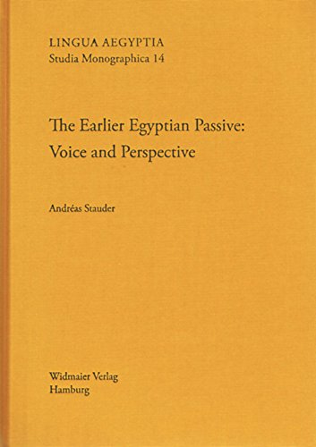Earlier Egyptian Passive LASM 14 Voice and Perspective