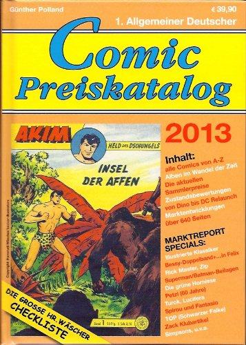 Comic-Preiskatalog 2013 (gebundene Ausgabe): Polland, Günther