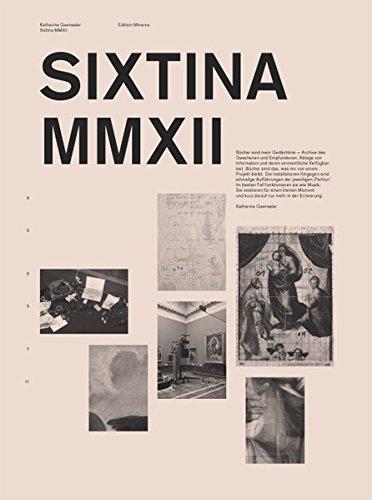 Sixtina MMXII: Gaenssler, Katharina, Gänssler,