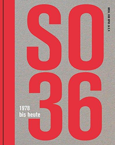 9783943967050: SO36 - 1978 bis heute (Buch + DVD)