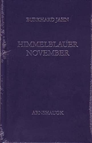 9783944064383: Himmelblauer November