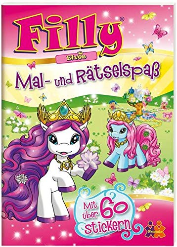 9783944107271: Filly Elves. Mal- und R�tselspa�