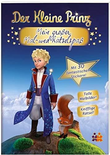 9783944107288: Der kleine Prinz. Mein gro�er Mal- und R�tselspa�
