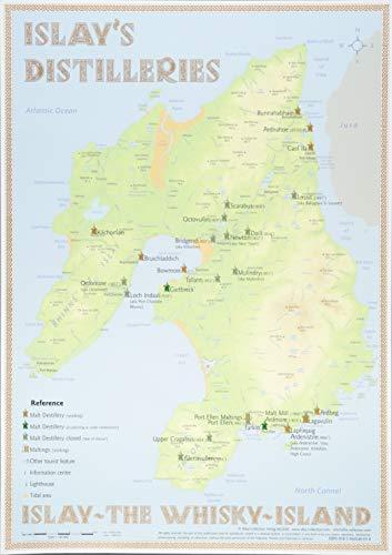 9783944148038: Islay's Distilleries Tasting Map 34 x 24cm