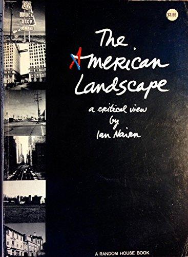 9783944148373: The American landscape: A critical view