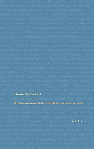 9783944253008: Kulturwissenschaft und Naturwissenschaft