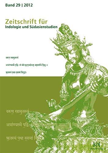 9783944312002: Zeitschrift f|r Indologie und S|dasienstudien 29 (2012) (Zeitschrift Fur Indologie Und Sudasienstudien)