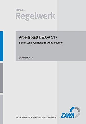 arbeitsblatt dwa a 117 von abwasser - ZVAB