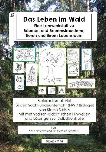 9783944341033: Das Leben im Wald. Eine Lernwerkstatt zu Bäumen und Beerensträuchern, Tieren und ihrem Lebensraum: Freiarbeitsmaterial für den Sachkundeunterricht (NW ... Hinweisen und Lösungen zur Selbstkontrolle