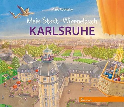 9783944445052: Mein Stadt-Wimmelbuch Karlsruhe