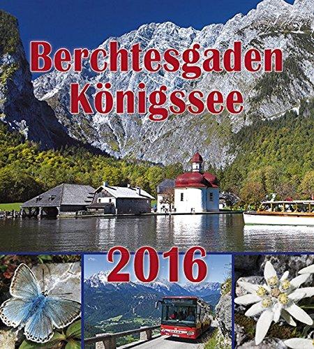9783944501192: Berchtesgadener Postkartenkalender 2016