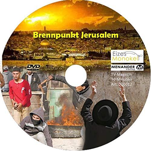 9783944584157: Eizes Monokel - Brennpunkt Jerusalem: TV-Magazin zum Thema Israel und Judentum - Video-DVD - 30 Minuten [Alemania]