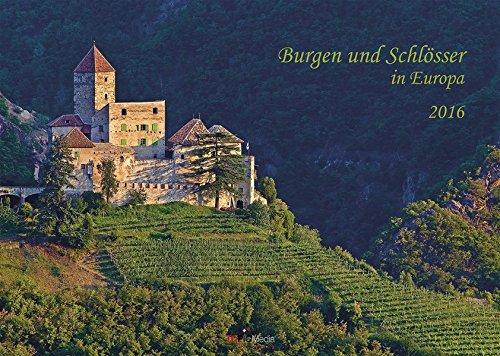 9783944614939: Burgen und Schlösser in Europa 2016