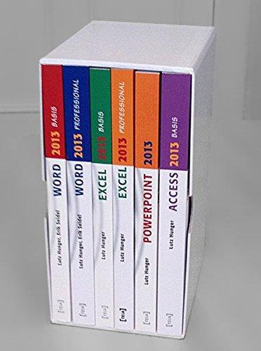 MS Office 2013 Gesamtausgabe, 6 Bde. m. CD-ROM: Lutz Hunger