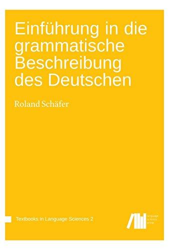9783944675534: Einführung in die grammatische Beschreibung des Deutschen: Volume 2 (Textbooks in Language Sciences)