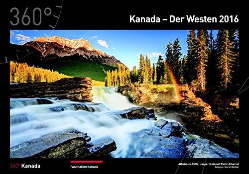 9783944921273: 360° Kanada Kalender 2016 Der Westen