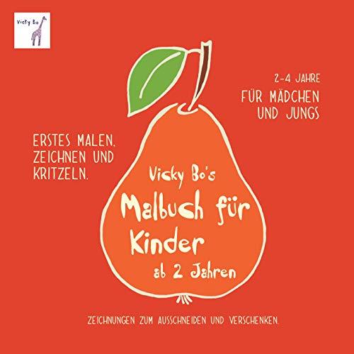 9783944956138: Vicky Bo's Malbuch für Kinder ab 2 Jahren