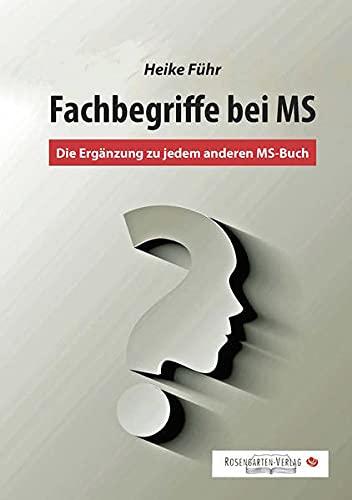 9783945015162: Fachbegriffe bei MS: Die Erg�nzung zu jedem MS-Buch