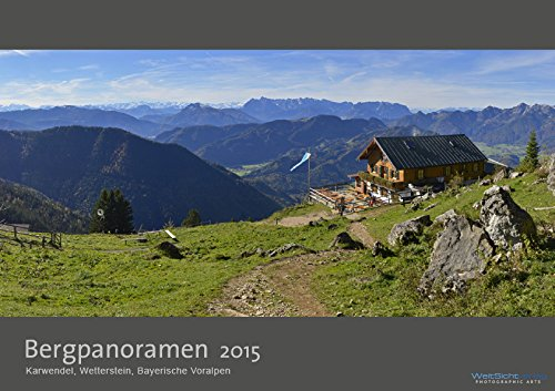 9783945052426: Bergpanoramen 2015 Premiumkalender