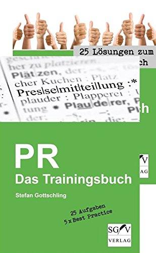 PR - Das Trainingsbuch: Stefan Gottschling