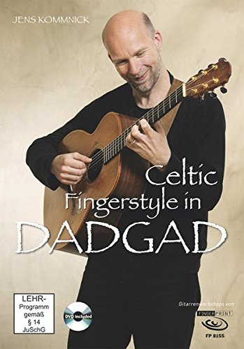 9783945190005: Celtic Fingerstyle in DADGAD: Gitarrenworkshop