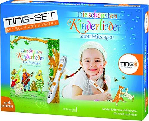 9783945302101: TING Starter-Set: Die schönsten Kinderlieder zum Mitsingen: Buch inklusive Hörstift: Kinderlieder zum Mitsingen für Groß und Klein