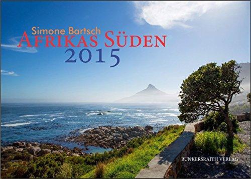9783945504031: Doppel Kalender Afrikas Süden - Die beeindruckende Landschaft und Tierwelt des afrikanischen Südens auf 25 großformatigen Bildern (Wandkalender 2015 DIN A 3 im Querformat)