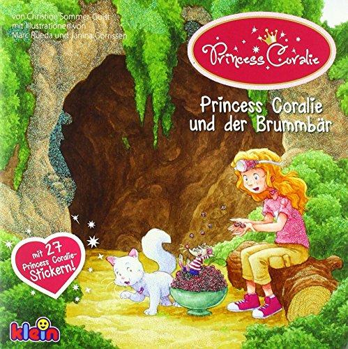 9783945519547: Princess Coralie und der Brummbär: mit 27 Princess Coralie Stickern