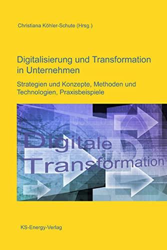 9783945622025: Digitalisierung und Transformation in Unternehmen