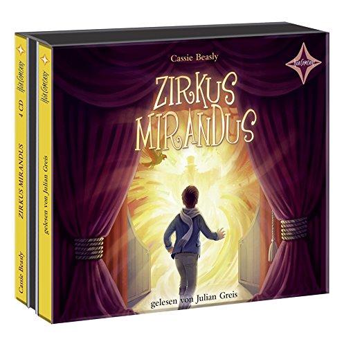 Zirkus Mirandus: Sprecher: Julian Greis 4 CD,: Meike Roth-Beck, Peter