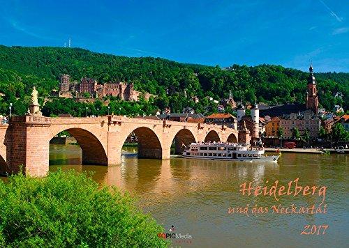 9783945828267: Heidelberg und das Neckartal 2017