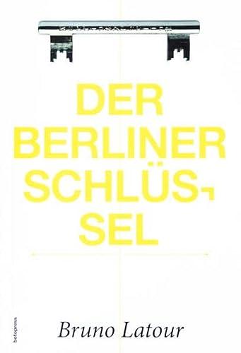 9783946056003: Der Berliner Schlüssel