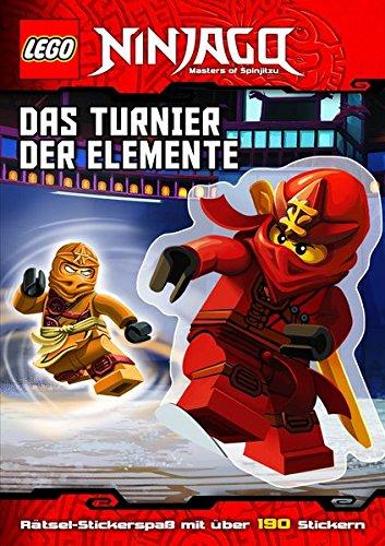LEGO® NINJAGO(TM) Das Turnier der Elemente: mit Stickerbögen