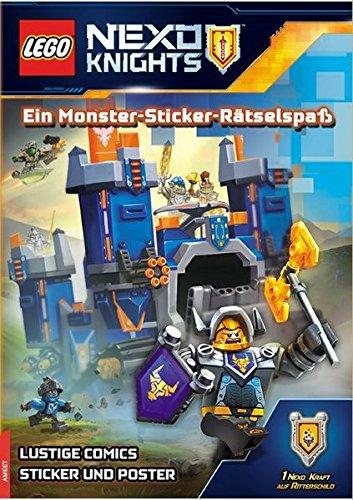9783946097266: LEGO® Nexo Knights(TM) Ein Monster-Sticker-Rätselspaß