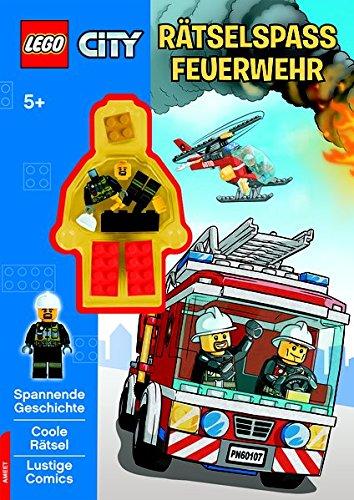 LEGO® CITY(TM) Rätselspaß Feuerwehr: mit LEGO Minifigur
