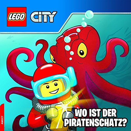 9783946097402: LEGO® CITY(TM) Wo ist der Piratenschatz?: Mini-Bilderbuch
