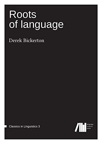 9783946234098: Roots of Language