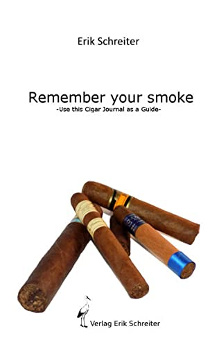 9783946250074: Remember your Smoke: Use this Cigar Journal as a Guide