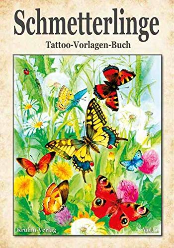 Schmetterlinge Volume 1 Tattoo Vorlagen Buch Von Johann Barnas
