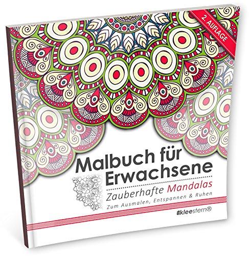 9783946638124: Malbuch für Erwachsene: Zauberhafte Mandalas zum Ausmalen, Entspannen & Ruhen: Volume 1